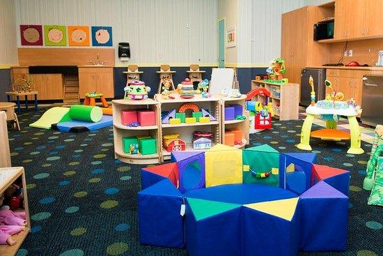 Kids Quest at Mohegan Sun Casino: Tiny Tot Room