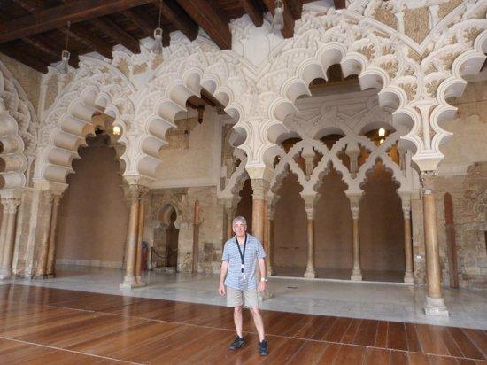Palacio de la Aljafería: EL GRAN SALON