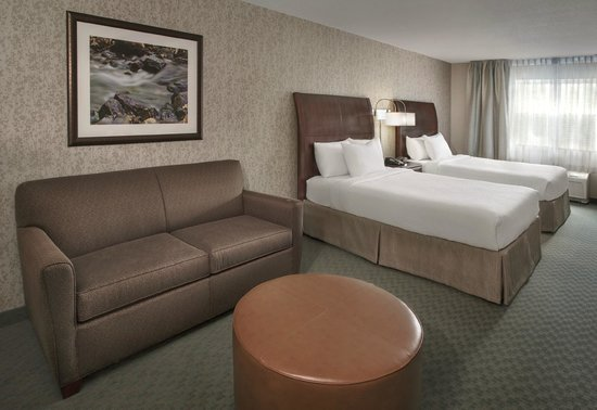 Fairfield Inn & Suites Great Barrington Lenox/Berkshires : Our Two Queen Studio Room has a pull-out sofa