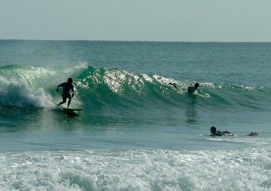 Tesoro Escondido: paunch surfing