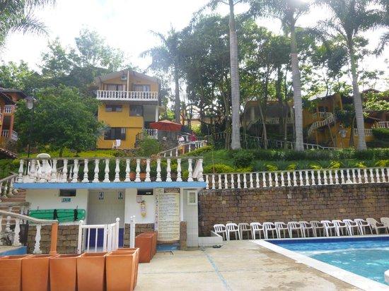 Hotel Posada Campestre : vista desde la piscina