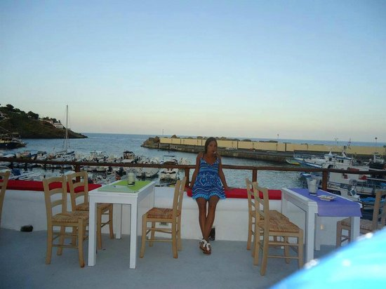 Terrazza Bar sul Porto di Cala Santa Maria - Picture of Il ...