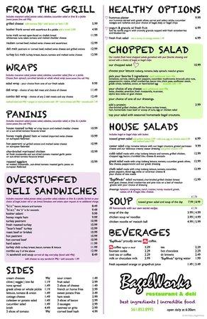 Bagelworks: new menu!!