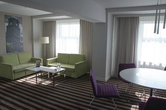 Best Western Premier Hotel Forum Katowice: Main room. NB: Suite!