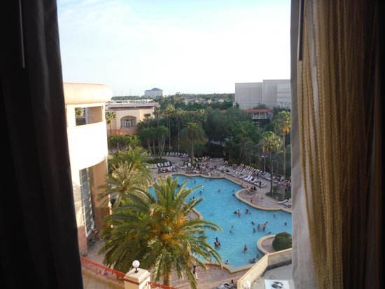Rosen Centre Hotel: View from room
