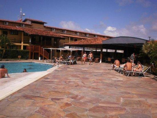 Resort La Torre: Vista da frente do restaurante central!!