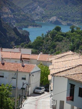 Bed & Breakfast Arroyo de la Greda: Uitzicht vanaf het dakterras