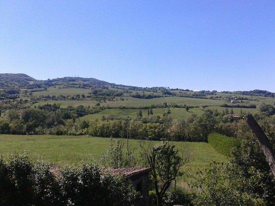 Antica Trattoria Bellaria : Il panorama