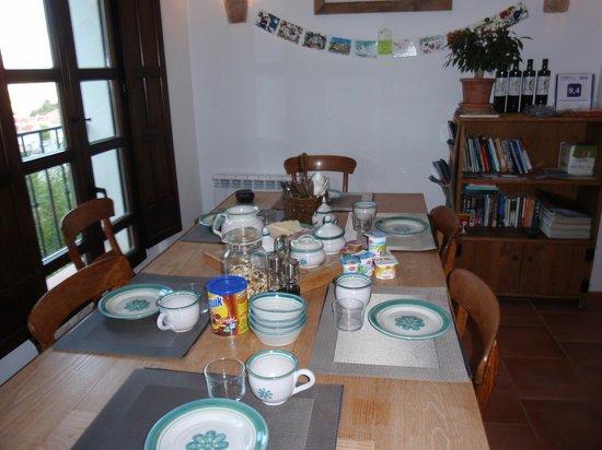 Bed & Breakfast Arroyo de la Greda: Gezellige ontbijtzaal