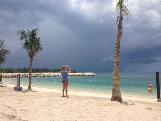 Hotel Riu Palace Jamaica: the beach