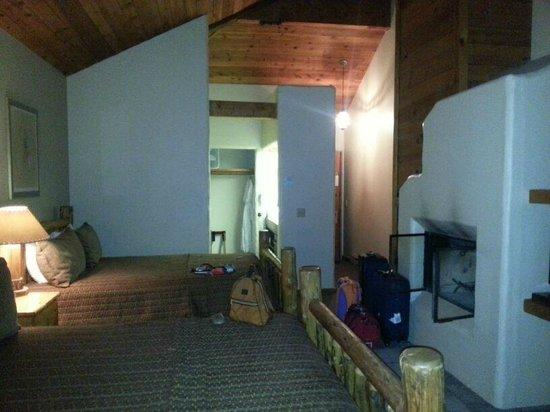 Spring Creek Ranch : camino oltre riscaldamenti per un ambiente decisamente caldo