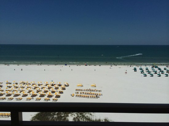 Sandpearl Resort: view from gulf view suite