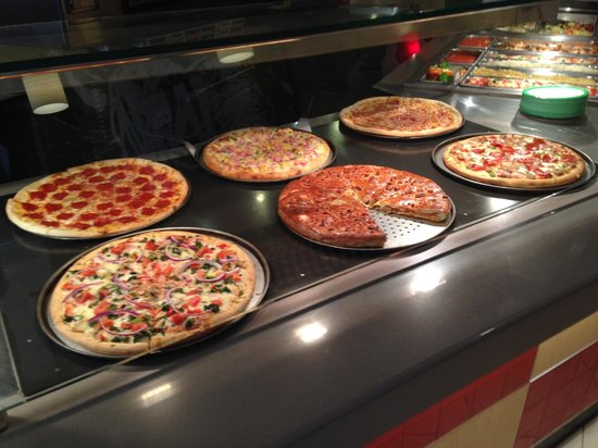 Sbarro: Awesome pizzas