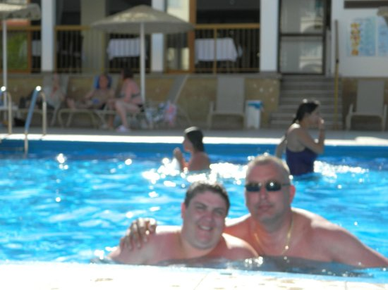 Windmills Hotel Apartments: me and the wife