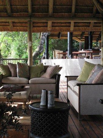 Sabi Sabi Selati Camp: Lounge and terrace