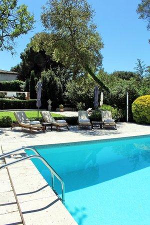 Le Mas de Chastelas: Swimming pool