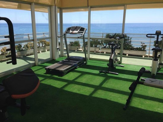 Gran Cervantes by Blue Sea : Roof Top air conditioned Gym