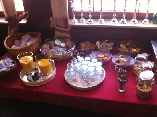 Hotel Meesenburg: Breakfast buffet
