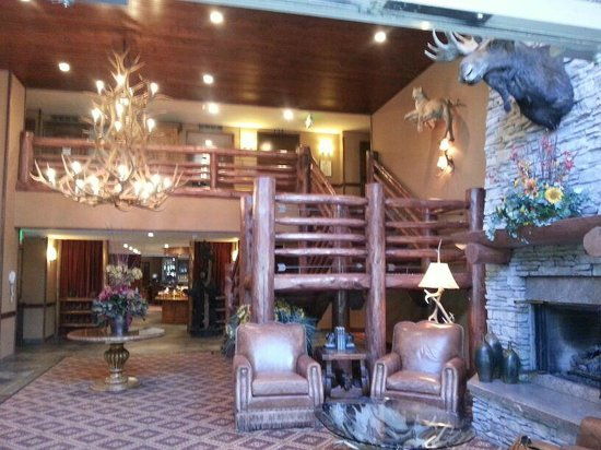 The Lodge at Jackson Hole: spettacolare interno