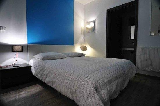 Intérieur Nuit De La Chambre Bleue Picture Of Maison Mondrian