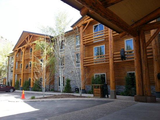 The Lodge at Jackson Hole: rustico