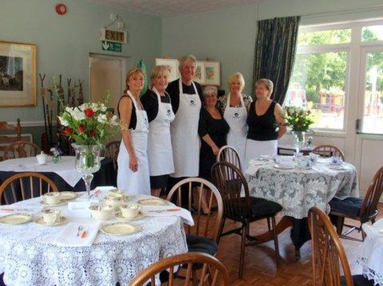 Riseley Village Tea Room: Our Wonderful Volunteers