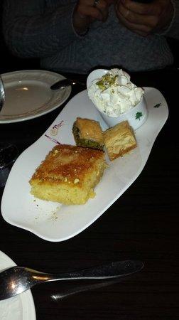 Mijana: le dessert a base de fleur d'orangé