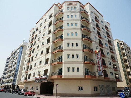 Rose Garden Hotel Apartments Bur Dubai Struttura 2