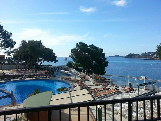 Intertur Hotel Miami Ibiza : The view from my room