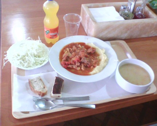 Nacionalni Restoran Mercur: Обед