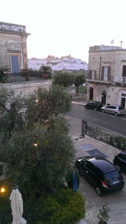 Ostuni Palace Hotel Meeting SPA: view from our room