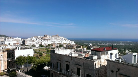 Ostuni Palace Hotel Meeting SPA: from the hotel roof