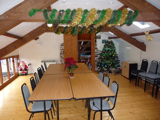 Newhouse Farm Cottages: Hay lof function room