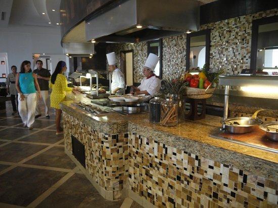 Hyatt Zilara Cancun : ビュッフェレストラン