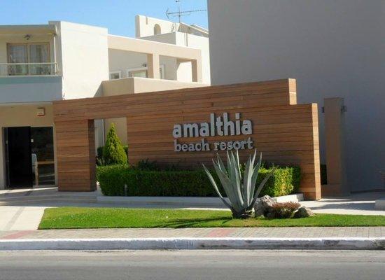 Amalthia Beach Resort : Hotel entrance