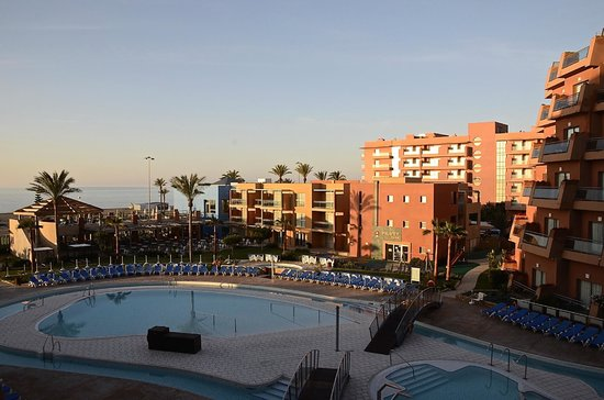 Protur Roquetas Hotel & Spa: Early morning from our room