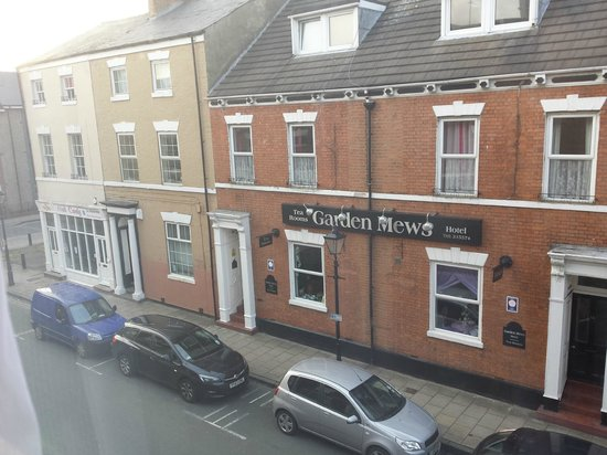 Kingston Theatre Hotel: View from the window of my room