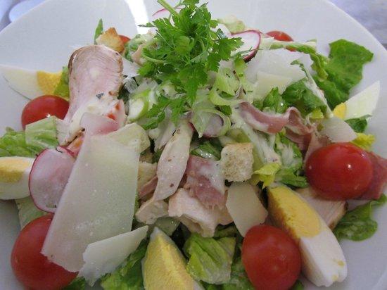 La Paillote Blanche : salade Caesar