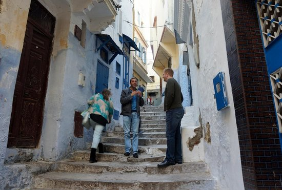 Said Private Day Tours : Muhammad guiding through the Kasbah and Medina