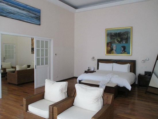 Gaia Hotel & Reserve: Bedroom, Gaia Suite