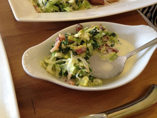 Kew Grill: 'Bacon Greens'