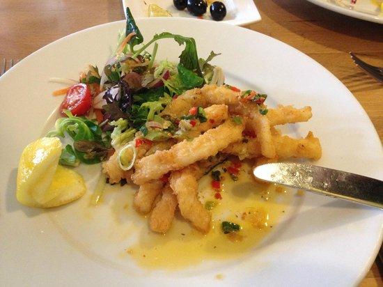 Kew Grill: Chilli fired squid