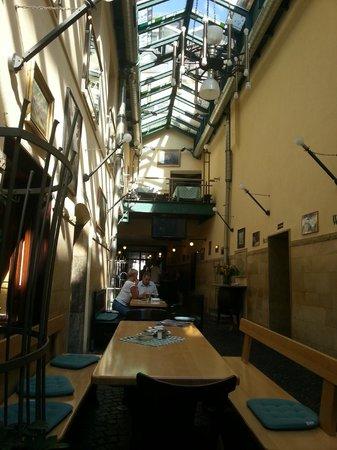 Brauerei-Gaststatte Kneitinger: Внутренне помещение