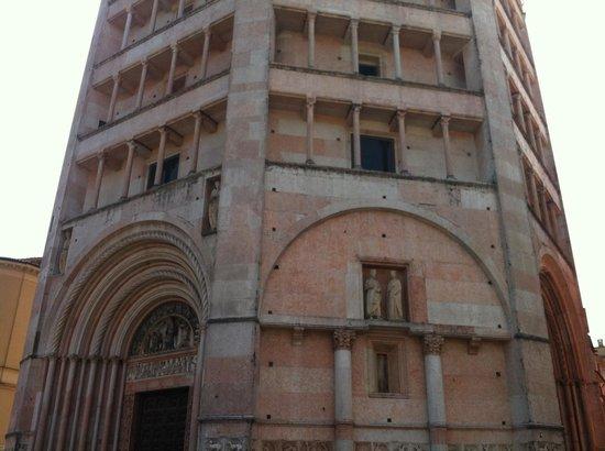 Battistero di Parma: Battistero