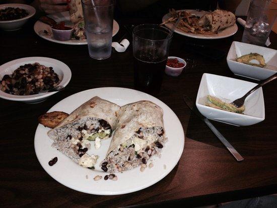 Black Bean Cafe : Breakfast Burritios