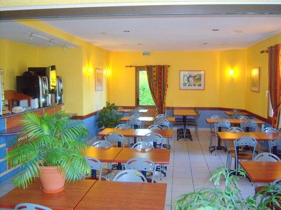 Hôtel Altica Sarlat : salle de petit-déjeuner