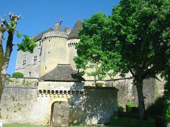 Le Chateau de Fenelon: Vus du château par un sentier