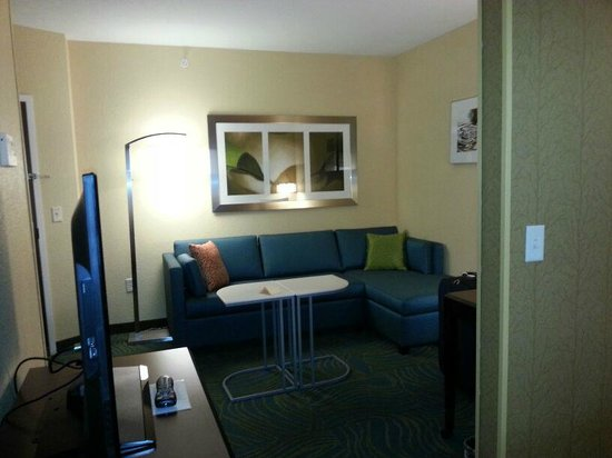 SpringHill Suites Cheyenne: divano relax