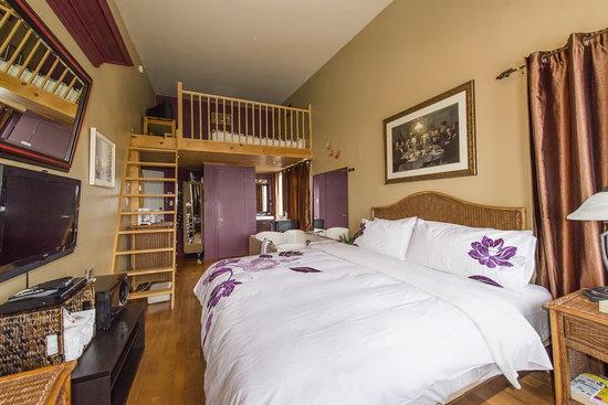 Hotel Spa Watel : Suite avec messanine