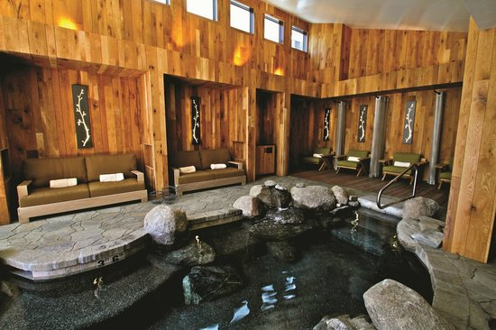 The Cove, an Authentic McCall Spa: The Cove indoor immersion pools